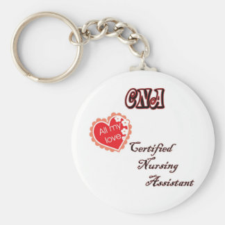 CERTIFIED NURSING ASSISTANT KEYCHAIN