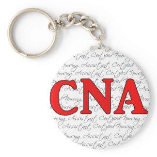 Certified nursing assistant keychain
