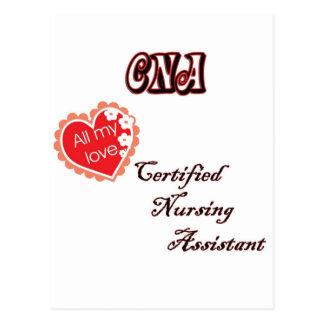CERTIFIED NURSING ASSISTANT POST CARD