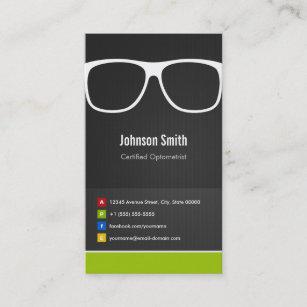 Optometry business cards zazzle certified optometrist optical creative innovative business card colourmoves
