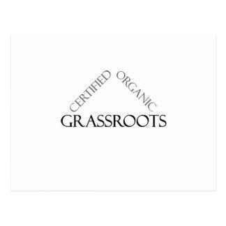 Certified Organic Grassroots Postcard