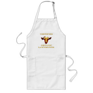 Certified Organic Lawnmower Long Apron