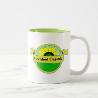 Certified Organic Seal on your Mug and Cups