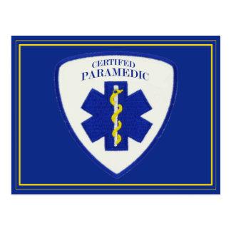 Certified Paramedic Postcard