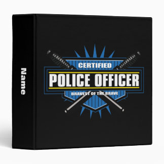 Certified Police Officer Binder