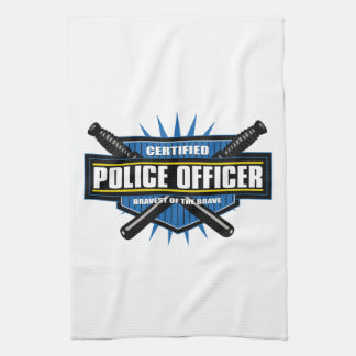 Certified Police Officer Kitchen Towel