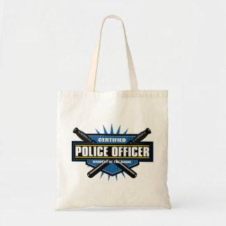 Certified Police Officer Tote Bag