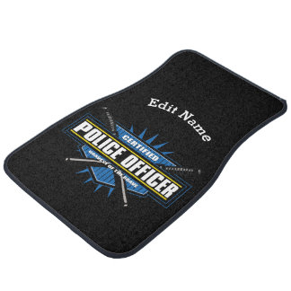 Certified Police Officer Car Mat