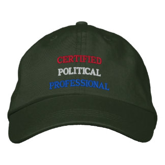 Certified Political Professional Embroidered Baseball Cap