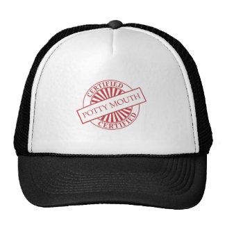 Certified - Potty Mouth Trucker Hat