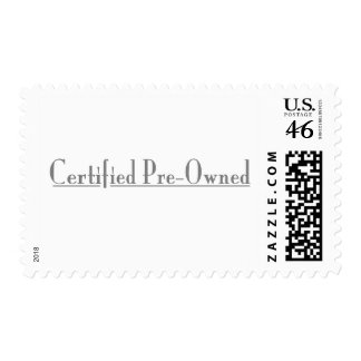 Certified Pre-Owned Postage Stamp