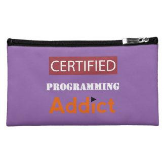 Certified Programming Addict Cosmetic Bag