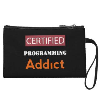 Certified Programming Addict Wristlet