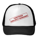 Certified Project Manager Hat