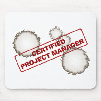 Certified Project Manager Mouse Pad