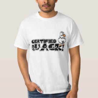 Certified Quack Duck T-Shirt