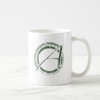 Certified Rational Thinker Classic White Coffee Mug