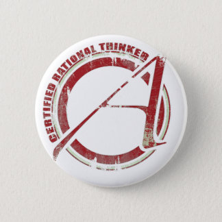 Certified Rational Thinker Pinback Button