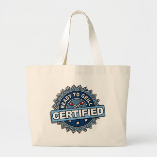 Certified Ready to Grill Jumbo Tote Bag