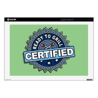 Certified Ready to Grill Laptop Skin