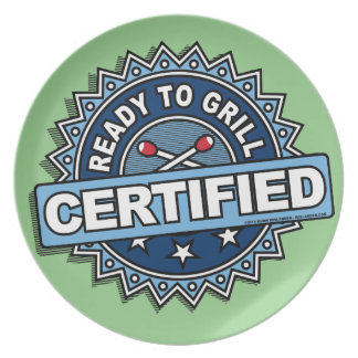 Certified Ready to Grill Plate