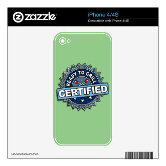 Certified Ready to Grill Skins For The iPhone 4S