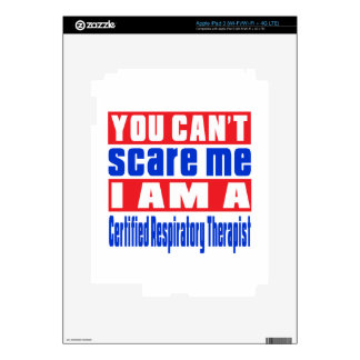 Certified Respiratory Therapist scare designs Decals For iPad 3