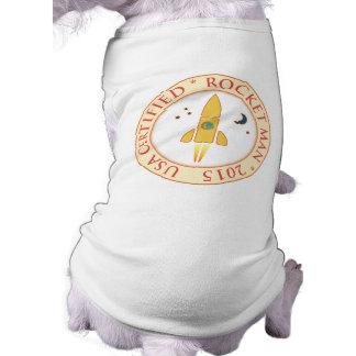 Certified rocket man dog clothes