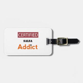 Certified Salsa Addict Bag Tag