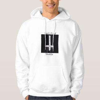 Certified savage anti-christ hoodie