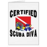 Certified SCUBA Diva Cards