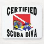 Certified SCUBA Diva Mousepad