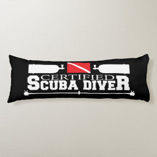 Certified Scuba Diver Body Pillow