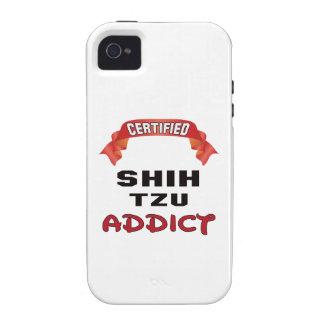 Certified Shih Tzu Addict Case-Mate iPhone 4 Cases