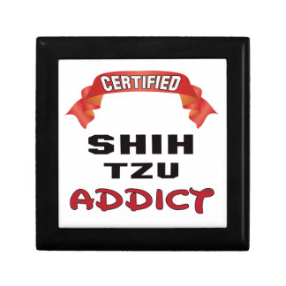 Certified Shih Tzu Addict Gift Boxes