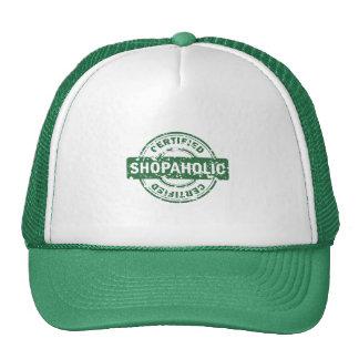 Certified Shopaholic Hat