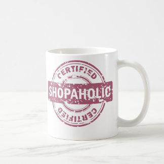Certified Shopaholic Mug