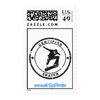 Certified Sk8r Stamp