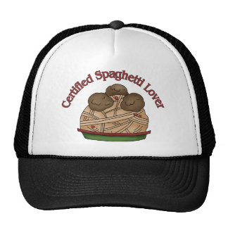 Certified Spaghetti Lover Hat