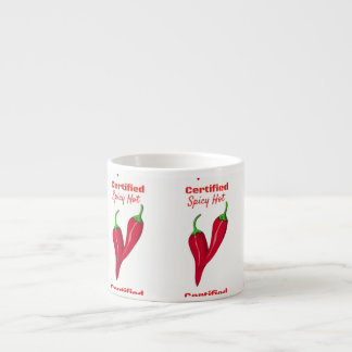 Certified Spicy Hot Thunder_Cove Espresso Cup