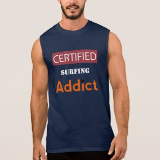 Certified Surfing Addict Sleeveless Tee
