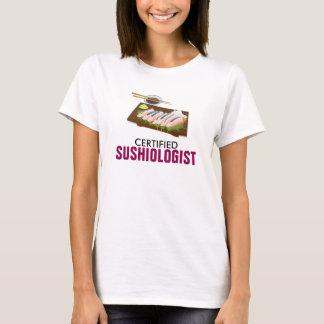 Certified Sushiologist Ladies Shirt