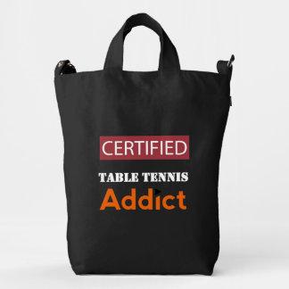 Certified Table Tennis Addict Duck Bag