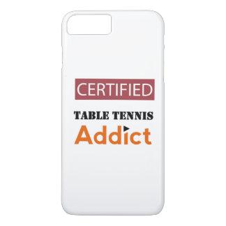 Certified Table Tennis Addict iPhone 8 Plus/7 Plus Case