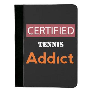 Certified Tennis Addict Padfolio