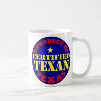 CERTIFIED TEXAN COFFEE MUG