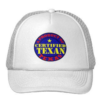 CERTIFIED TEXAN TRUCKER HAT