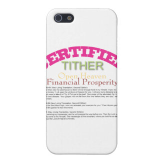 Certified Tither iPhone 5 Cover