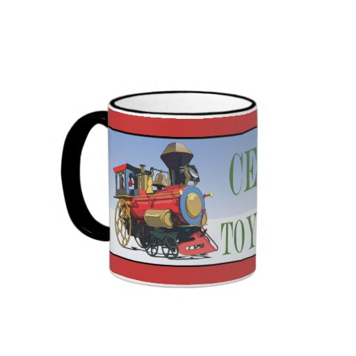 Certified Toy Collector Ringer Coffee Mug