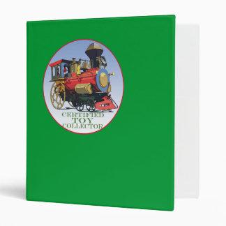 Certified Toy Collector Vinyl Binder